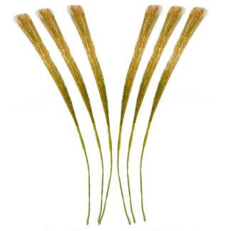 Multifili glitterati oro cm 45 set 12 pezzi