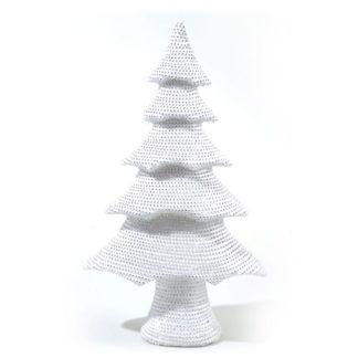 Alberino di Natale con strass cm 53