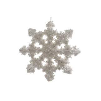 Fiocco di neve ghiacciato cm 13