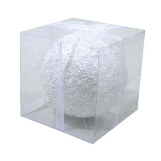Pallina di Natale ghiacciata mm. 130