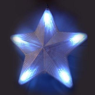 Stella con gioco di luci cm. 42