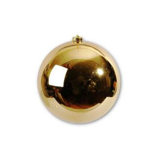 Palla di Natale mm 140 oro