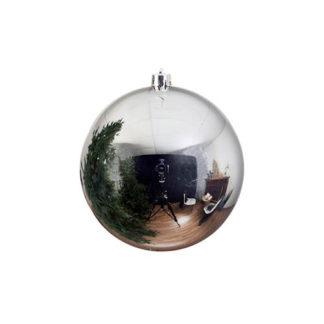 Palla di Natale mm 140 argento