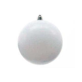 Palla di Natale mm 140 Bianca