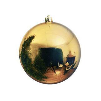 Palla di Natale mm 200 oro