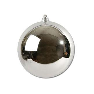 Palla di Natale mm 200 argento