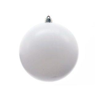 Palla di Natale mm 200 Bianca