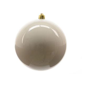 Palla di Natale mm 200 Bianco Lana