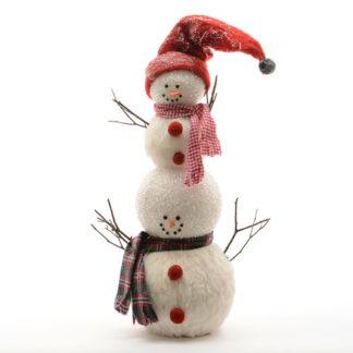 Pupazzo di neve con berretto cm 65