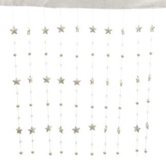 Tenda con stelline e cristalli cm 90 x 200