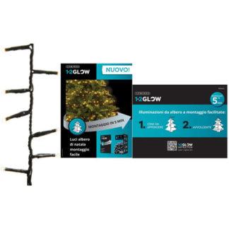 Filo 540 led luce calda per albero di Natale da cm 180
