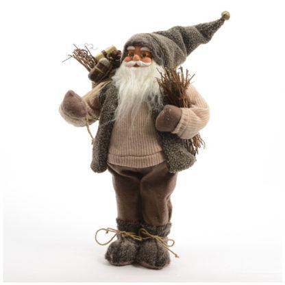 Babbo Natale con sacco dei doni cm 46