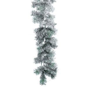 Ghirlanda pino innevata Canadian cm 270