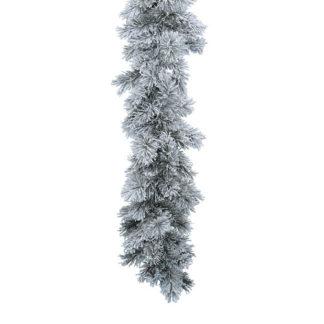 Ghirlanda pino innevata Vancuover cm 270