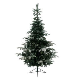Albero di Natale Nordmann innevato cm 240
