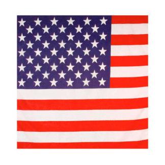 Bandana con bandiera USA