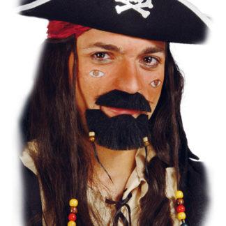 Barba e Baffi stile Jack Sparrow