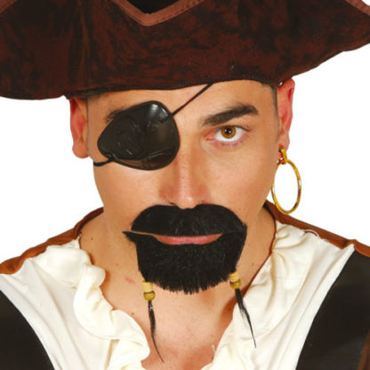 Benda pirata con orecchino
