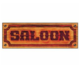 Insegna saloon cm. 78