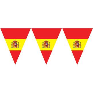 Bandierine Spagna triangolari mt 5