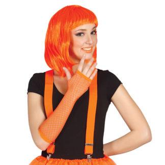 Guanti a rete Fluo Arancio