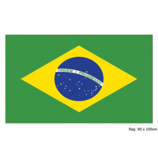 Bandiera Brasile maxi mt 1,50