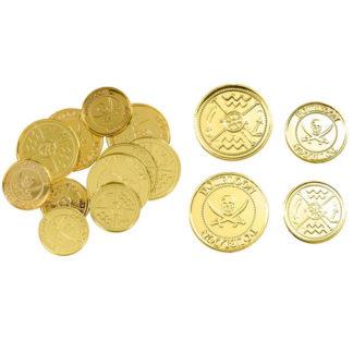 Dobloni d'oro confezione da 12 pezzi