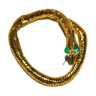 Bracciale serpente dorato