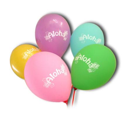 Palloncini Aloha 25 pezzi