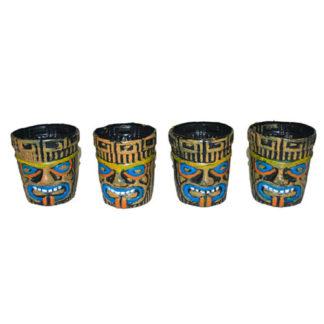 Bicchieri Hawaii set 4 pezzi