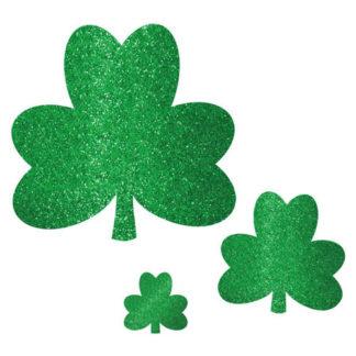 Decori Glitter San Patrick set da 20 pz