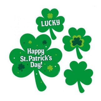 Set Decorazioni Happy San Patrick set 30 pezzi
