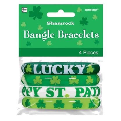 Bracciali San Patrick in confezione da 4 pezzi