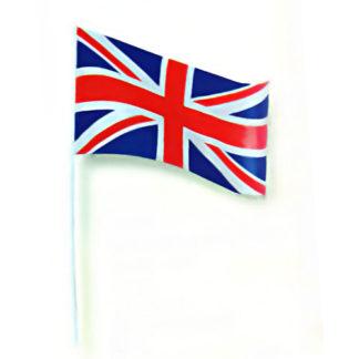 Bandierina Gran Bretagna con asta