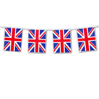 Bandierine PVC Union Jack mt 10