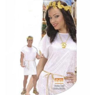 Costume Antica Roma Tunica bianca tg. XL