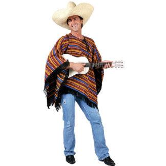 Poncho messicano lusso