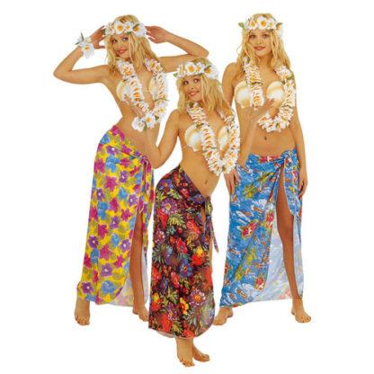 Pareo Hawaiano colori assortiti