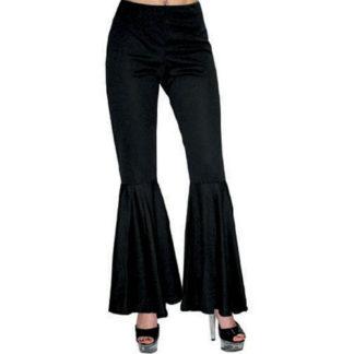 Pantaloni Donna Anni 70 neri tg 44/46