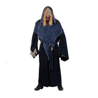 Costume Zombie con maschera capelli e guanti