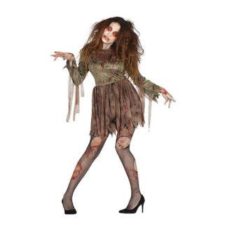 Costume Zombie insanguinato donna