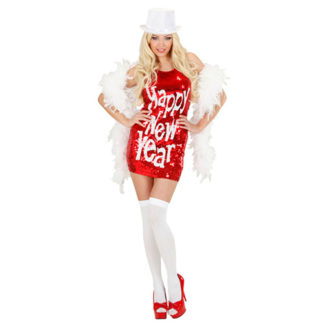 Costume Paillettes Happy New Year