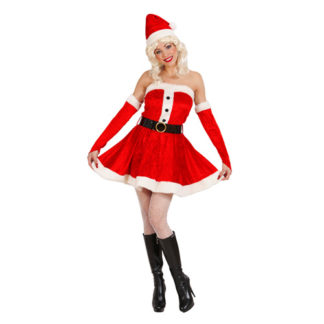 Costume Natale donna in velluto tg. 44/46
