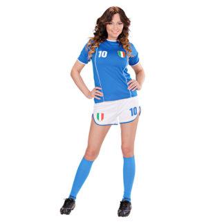 Costume Calciatrice Italia taglia M