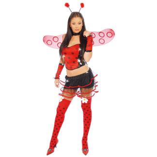 Costume Coccinella sexy tg. 42/44