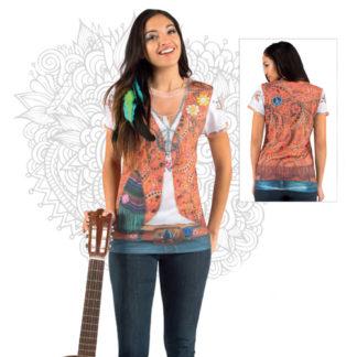 Maglietta realistic Hippie