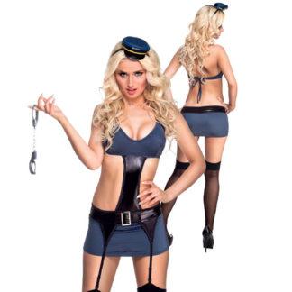 Costume super Sexy Poliziotta tg. S/M