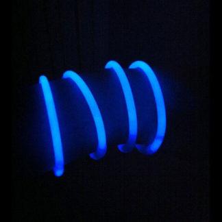 Braccialetti Luminosi blu conf. 100 pezzi