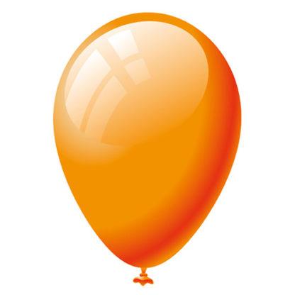 Palloncini colore arancio