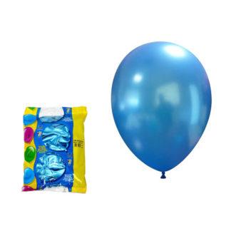 Palloncini metallizzati blu 100 pezzi